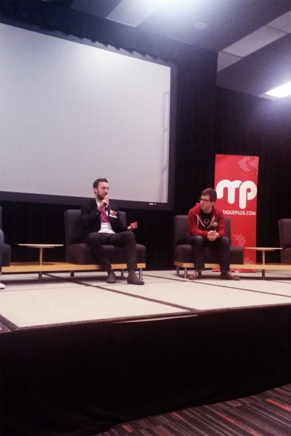 at Montreal Comiccon '14 (Panel)