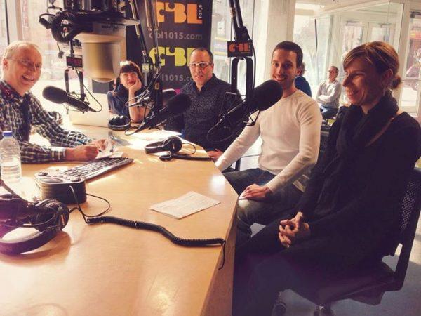 at CIBL 101,5 Radio