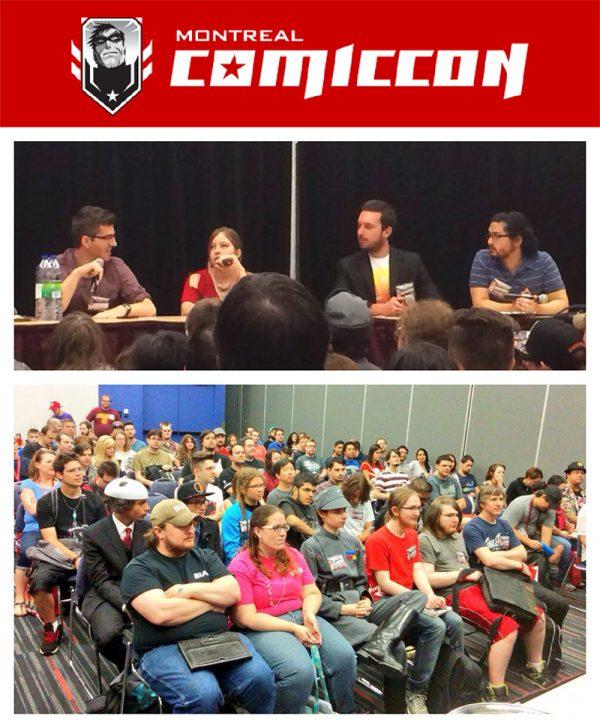 at Montreal Comiccon '15 (Panel)