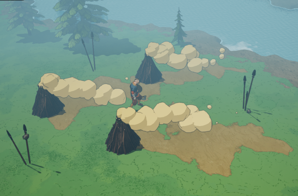 Behind-the-Scenes: Procedural Generation in Tribes of